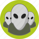 alien, users icon