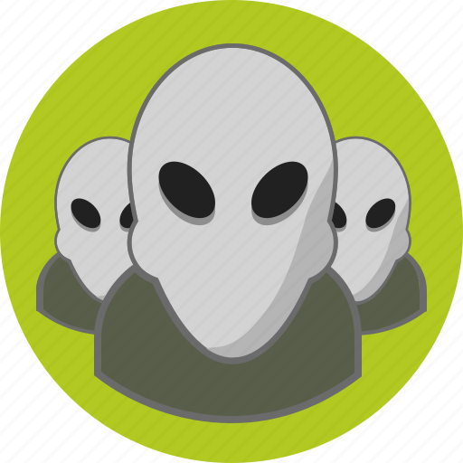 alien, users icon