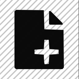 create, new icon