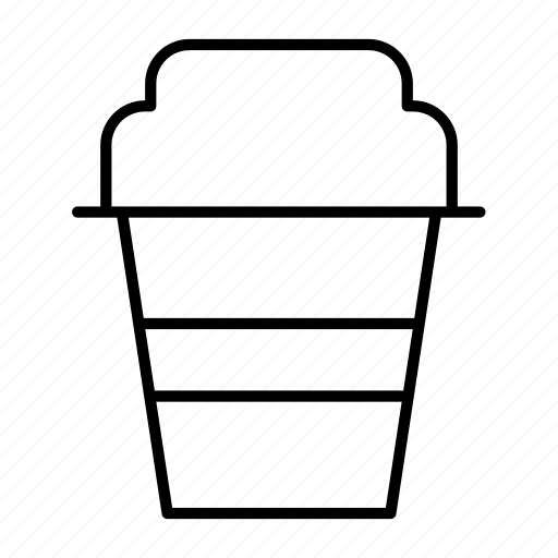 beverage, cafe, coffee, cup, glass icon