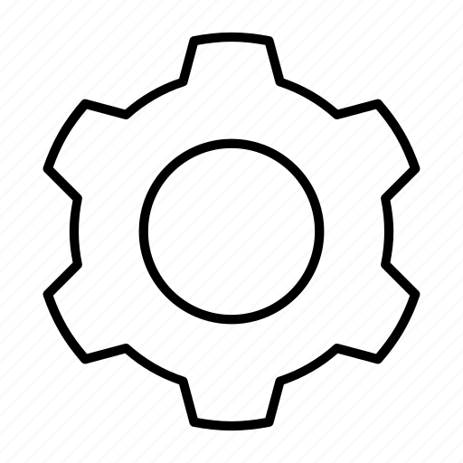 configuration, control, gear, option, setting icon