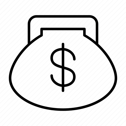 coin, money, payment, purse, wallet icon