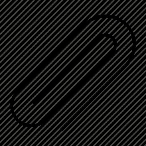 attach, attachment, clip, document, paper icon