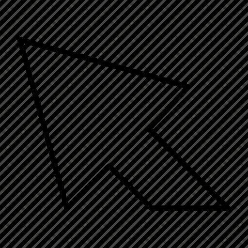 arrow, cursor, mouse, point, pointer icon