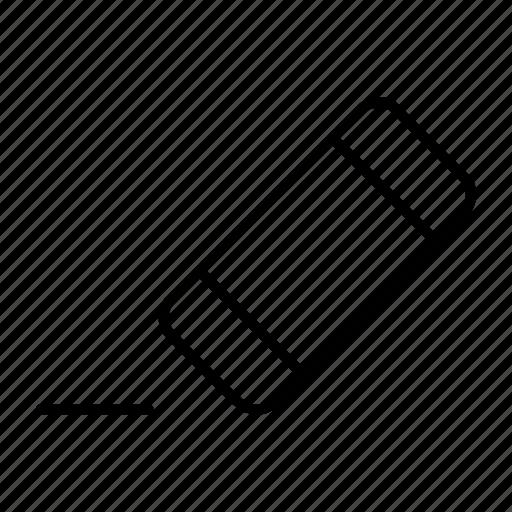 back, delete, reduce, remove, undo icon