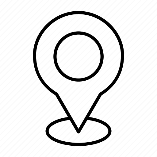 address, gps, location, map, pin icon