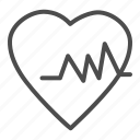 health, heart, medical, pulse, love, graph, rhythm