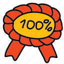 banners, labels, percent, prize, ribbon icon