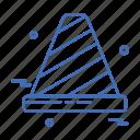 cone, day, labor, labour icon