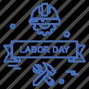 day, labor, labour icon