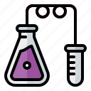 experiment, flask, laboratory, research, science