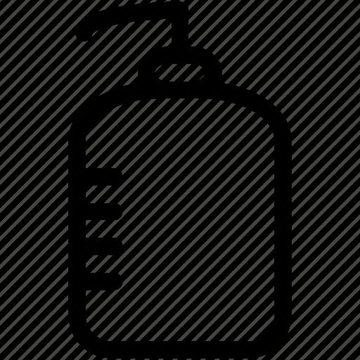 bottle, distilled water, distilled water bottle, graduated bottle, water bottle icon