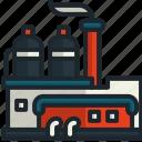 factory, industry, pollution, contamination, buildings, landscape