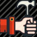 hammer, home, repair, improve, equipment, construction, tool