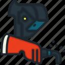 welder, work, profession, occupation, job, avatar