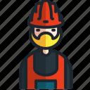 worker, engineer, labour, hard, hat, construction, obra