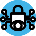 authentication, biometric, eye, protection, scan, security, technology