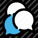 bubble, chat, comment, message, quote, speech, talk