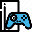 console, entertainment, game, pastime, play, xbox icon