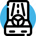 arcade game, car, drive, game, machine, race, video game icon