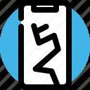 break, broken, mobile, phone, screen, smartphone
