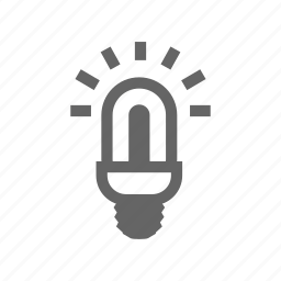 bright, bulb, contemporary, efficiency, electric, electrical, electricity, energy, environmental, glass, illuminated, innovation, lamp, light, lightbulb, lighting, lightning, power, savings, supply, technology icon