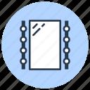 bathroom, interior, lamp, mirror icon