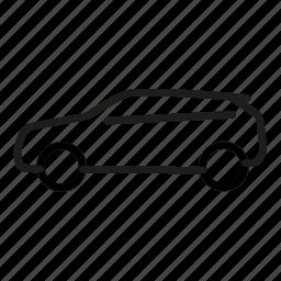 car, evoque, land rover, suv, transportation, vehicle icon