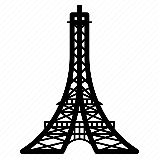eiffel, france, landmark, tower, travel icon