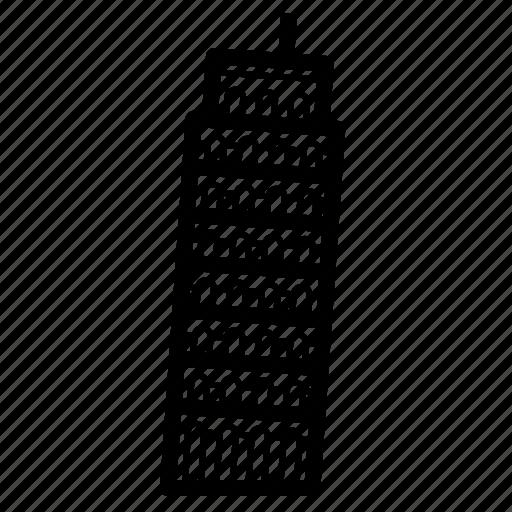 italy, landmark, pisa, tower, travel icon