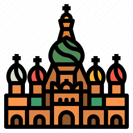 Basil, cathedral, moscow, russia, saint icon - Download on Iconfinder