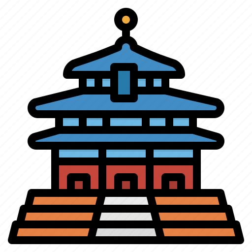 China, heaven, landmark, monuments, temple icon - Download on Iconfinder