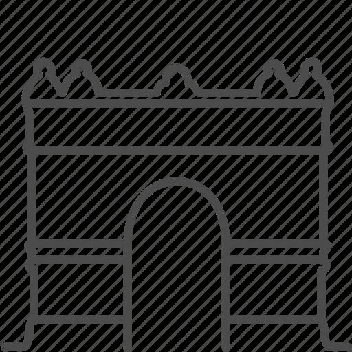 arc, arc de triomf, arche, barcelona, landmark, spanish, triumph icon