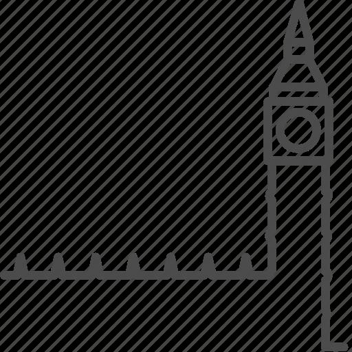 big ben, britain, clock, england, landmark, london, tower icon