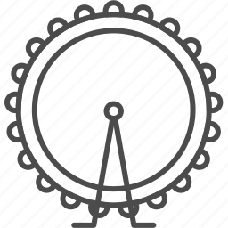 britain, england, landmark, london, observation, travel, wheel icon