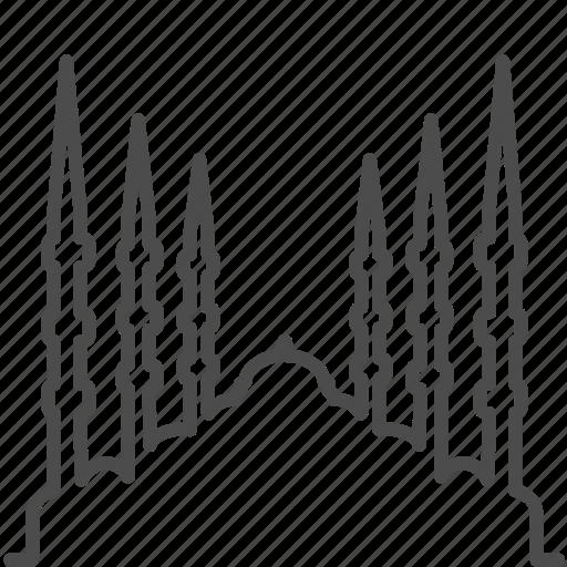 geo, istanbul, landmark, mosque, muslim, travel, turkey icon