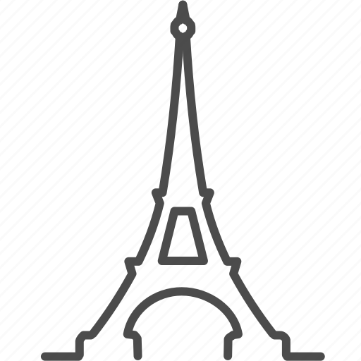 eiffel tower, europe, france, landmark, paris, tower, travel icon
