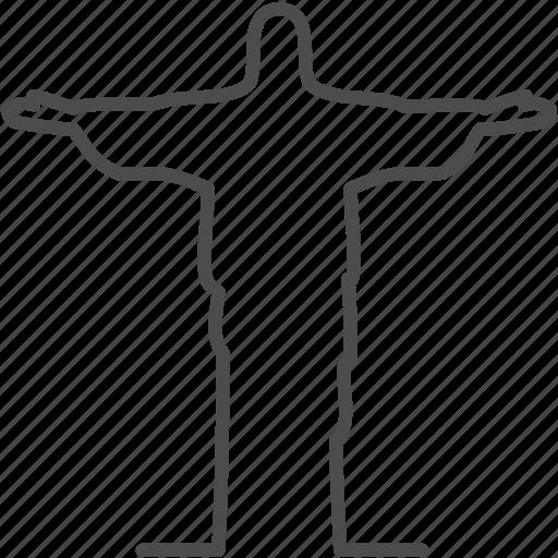brazil, christ, jesus, monument, rio icon