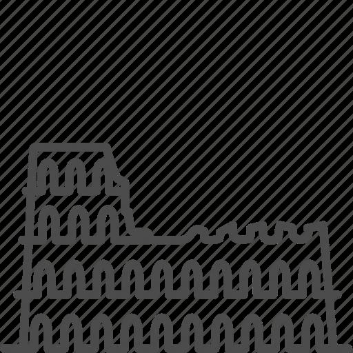 coliseum, colosseo, italian, italy, landmark, rome, travel icon