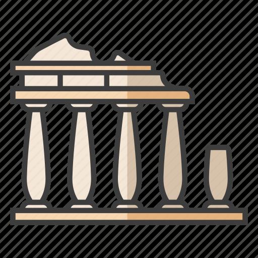 acropolis of athens, ancient, architecture, greek, landmark, parthenon, tourism icon