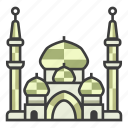 architecture, building, crystal mosque, islamic, landmark, malaysia, religion icon