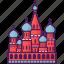 cathedral, church, landmark, moscow, russian, saint basil icon