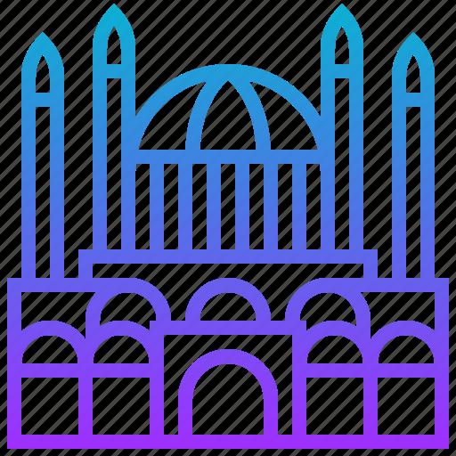 astana, building, landmark, mosque, nur icon