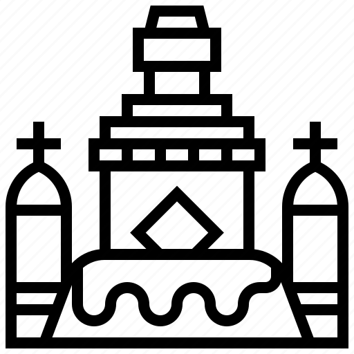 awayambhunath, building, landmark, nepal icon