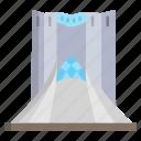 azadi, tower