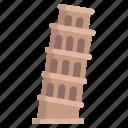 pisa, tower