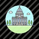 architecture, capitol, famous, hill, landmark, monument, us, washington icon