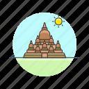 architecture, borobudur, buddhism, chandi, famous, indonesia, landmark, monument icon