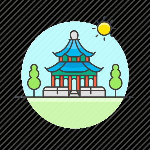 architecture, buddhism, chinese, famous, landmark, monument, pagoda icon