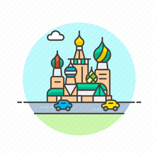 architecture, basils, cathedral, famous, landmark, monument, moscow, saint icon